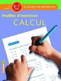 Annemie Bosmans - Feuilles d'exercices Calcul - 6-7 ans, CP 1re primaire.