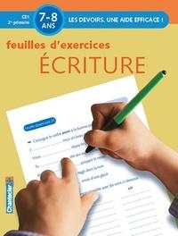 Annemie Bosmans - Feuilles d'exercices Ecriture - 7-8 ans, CE1 2e primaire.