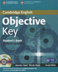 Annette Capel - Objective Key - Student's Book without Answers. 1 Cédérom