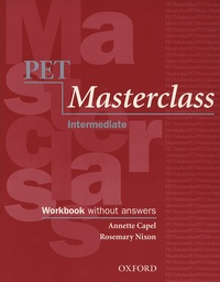 Annette Capel - Pet Masterclass Intermediate - Workbook without answers. 1 CD audio