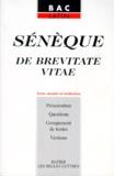 Annette Flobert et  Sénèque - De brevitate vitae.