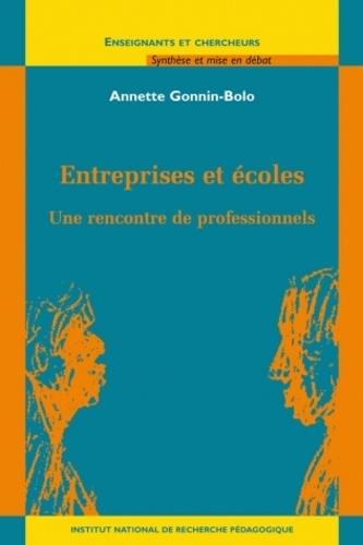 Annette Gonnin-Bolo - Entreprises et écoles - Une rencontre de professionnels.