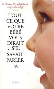 Deedr.fr Tout ce que votre bébé vous dirait... s'il savait parler Image