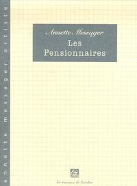 Annette Messager - Les Pensionnaires.
