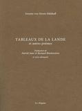 Annette von Droste-Hülshoff - Tableaux de la lande et autres poèmes.