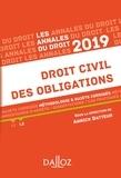Annick Batteur - Annales Droit civil des obligations 2019. Méthodologie & sujets corrigés.
