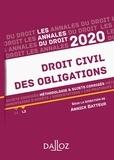 Annick Batteur - Annales Droit civil des obligations - Méthodologie & sujets corrigés.