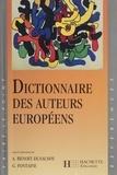 Annick Benoit-Dusausoy et Guy Fontaine - Dictionnaire des auteurs européenes.