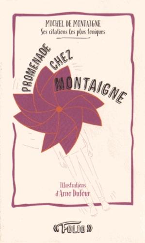 Annick Benoit-Dusausoy - Promenade chez Montaigne.