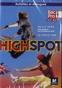 Annick Billaud - Anglais 1re/Tle Bac Pro A2-B1+ Highspot. 2 CD audio