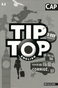 Rhonealpesinfo.fr Tip Top English CAP - Corrigé Image