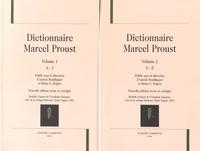 Annick Bouillaguet et Brian G. Rogers - Dictionnaire Marcel Proust - 2 volumes.