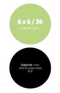 Annick Bureaud et Jean-Luc Soret - 6 x 6 / 36 - Landscape.