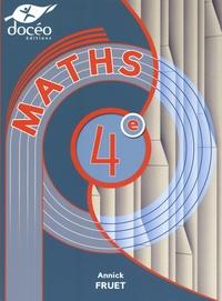 Annick Fruet - Mathématiques 4e.