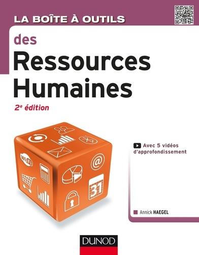 La Boîte à outils des Ressources Humaines - Annick Haegel - Format PDF - 9782100751235 - 14,99 €