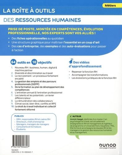 La boîte à outils des Ressources Humaines 3e édition