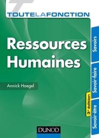 Annick Haegel - Toute la fonction Ressources humaines.