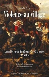 Deedr.fr Violence au village - La société rurale finistérienne face à la justice (1815-1914) Image