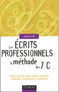Les écrits professionnels : la méthode des 7 C.pdf