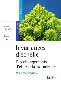 Annick Lesne et Michel Laguës - Invariance d'échelle. Des changements d'états à la turbulence.