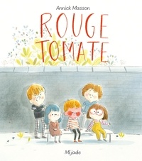 Annick Masson - Rouge tomate.