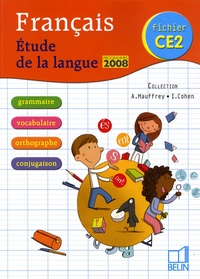 Annick Mauffrey et Isdey Cohen - Français CE2 - Etude de la langue fichier.