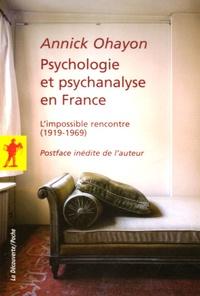 Psychologie et psychanalyse en France - Limpossible rencontre (1919-1969).pdf