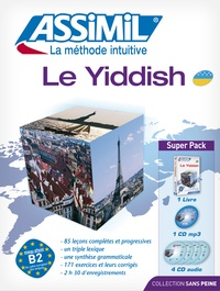 Le yiddish- Avec 4 CD audio - Annick Prime-Margules | Showmesound.org