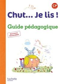 Annick Vinot et Jacques David - Chut... Je lis ! CP - Guide pédagogique. 1 CD audio