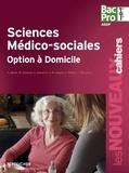Annie Bertin et Michèle Delomel - Sciences médico-sociales option à domicile 1e et Tle Bac Pro.