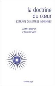 La doctrine du coeur- Extraits de lettres indiennes - Annie Besant |