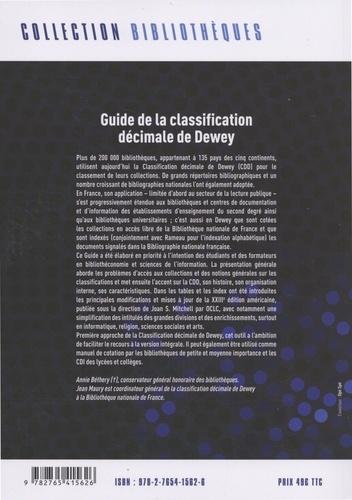 Guide de la classification décimale de Dewey. Tables abrégées