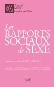 Annie Bidet-Mordrel - Les rapports sociaux de sexe.