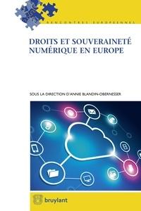 Annie Blandin-Obernesser - Droits et souveraineté numérique en Europe.