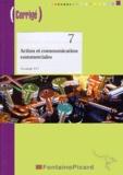 Annie Buvry - Action et communication commerciales Tle STT. 1 Cédérom
