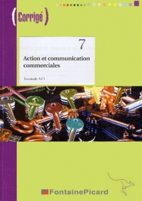 Action et communication commerciales Tle STT - Annie Buvry pdf epub