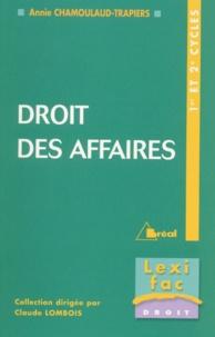 Accentsonline.fr Droit des affaires 1er et 2e cycles Image