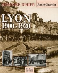 Annie Charvier - Lyon 1900-1920.