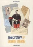 Annie Collognat-Barès - Trois frères dans la Grande Guerre - Correspondance inédite.