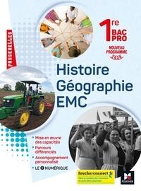 Annie Couderc - Histoire Géographie EMC 1re Bac Pro.