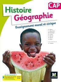 Annie Couderc - Histoire-géographie Enseignement moral et civique CAP.