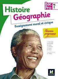 Annie Couderc et Françoise Blanchard - Histoire Géographie Enseignement moral et civique Tle Bac Pro.