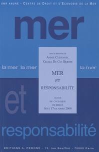 Deedr.fr Mer et responsabilité - Actes du colloque de Brest 16 et 17 Octobre 2008 Image