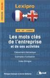 Annie Delhome et Philippe Champon - Les mots clés de l'entreprise et de ses activités.