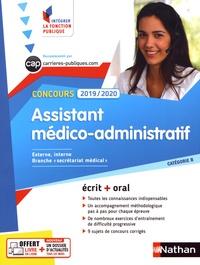 Assistant médico-administratif- Concours catégorie B - Annie Godrie  