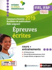 Concours dentrée Aide-soignant et Auxiliaire de puériculture IFAS, IFAP - Epreuves écrites.pdf
