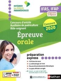 Annie Godrie et Louisa Rebih - Concours d'entrée Aide-soignant et Auxiliaire de puériculture - Epreuve orale.