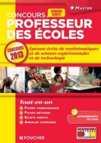 Galabria.be L'épreuve écrite de mathématiques, sciences expérimentales et technologie - Concours Professeur des écoles Image