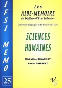 Annie Guilbert et Micheline Delannoy - Sciences humaines.