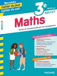 Annie Le Goff et Françoise Peynaud - Cahier du jour/Cahier du soir Maths 3e + mémento.